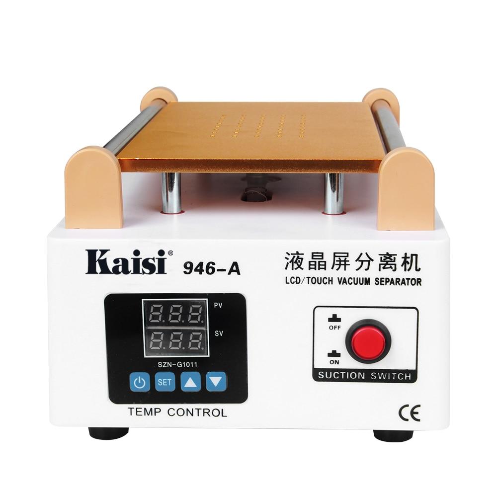 Kaisi 946A LCD Screen Touch Screen Separator Built-in Pump Vacuum Glass 7in LCD Separator Machine Screen Disassemble Repair Tool